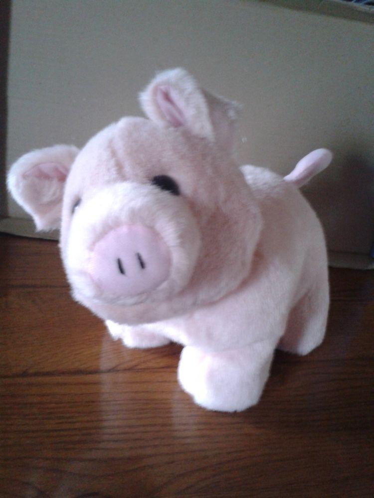 Peluche cochon rose 5 Noailles (60)