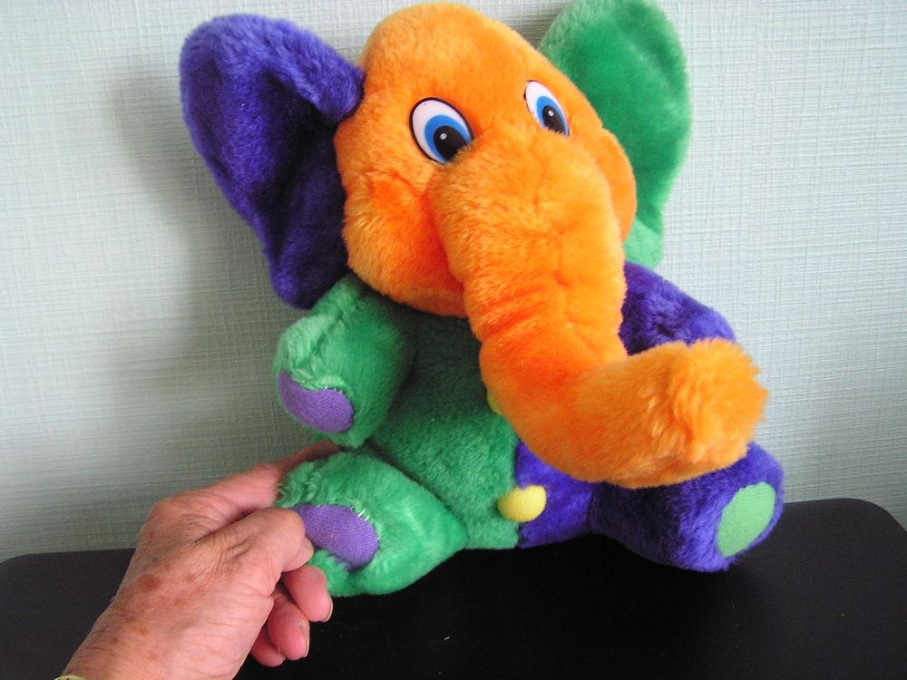 PELUCHE (ou doudou)  ELEPHANT  3 Brouckerque (59)