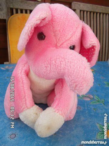 peluche éléphant rose 2 Chambly (60)