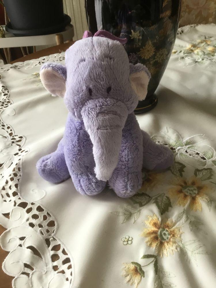 peluche éléphant violet 12 Poissy (78)