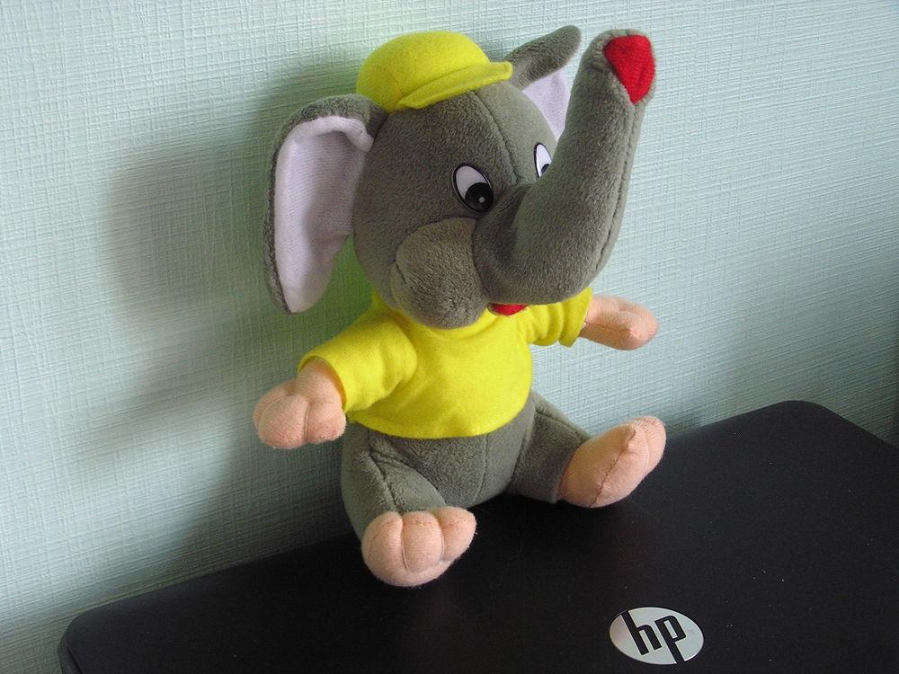Peluche  éléphant  3 Brouckerque (59)