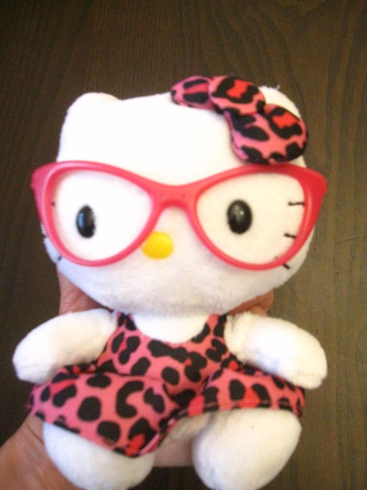 Peluche hello kitty lunettes roses 5 Saint-Jean-Pla-de-Corts (66)