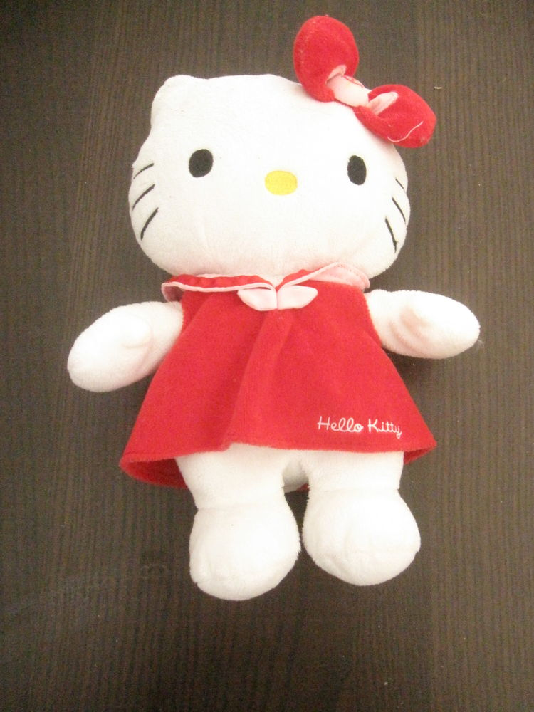 Peluche hello kitty robe marin rouge 25cm 5 Saint-Jean-Pla-de-Corts (66)