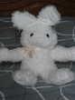 peluche lapin blanc 47 cm