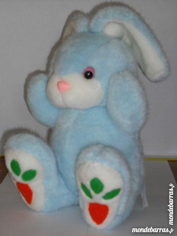 Peluche lapin bleu Jeux / jouets