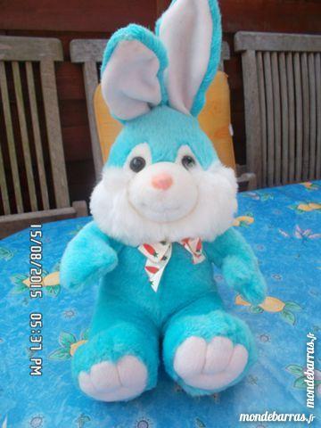 peluche lapin bleu 2 Chambly (60)