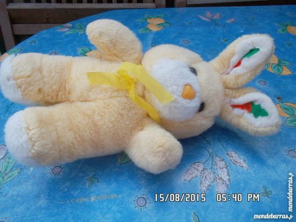 peluche lapin jaune 1 Chambly (60)