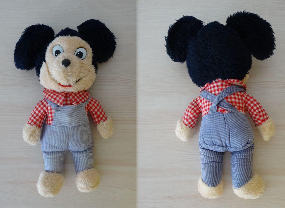 Peluche Mickey vintage,années 80,Disney,ferme,jeans,collec 5 Saint-Ambroix (30)
