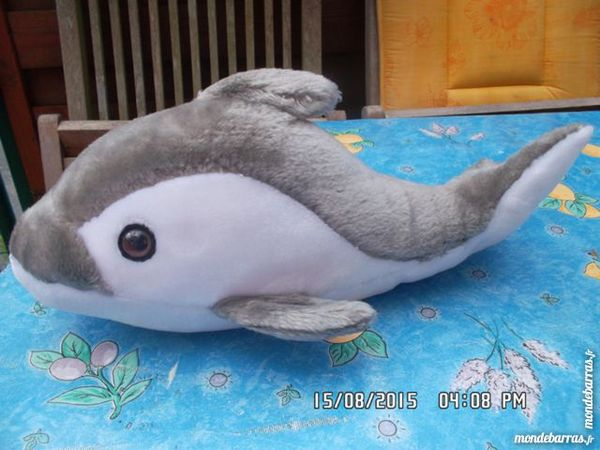 peluche orque gris 2 Chambly (60)