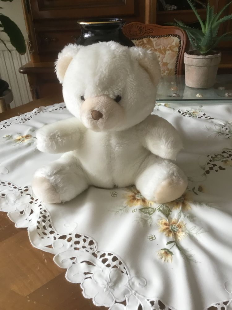 Peluche Ours blanc  15 Poissy (78)