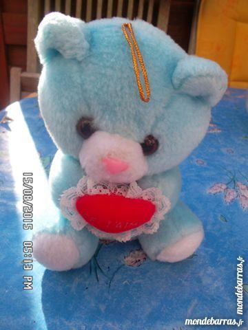 peluche ourson bleu JE T AIME 2 Chambly (60)