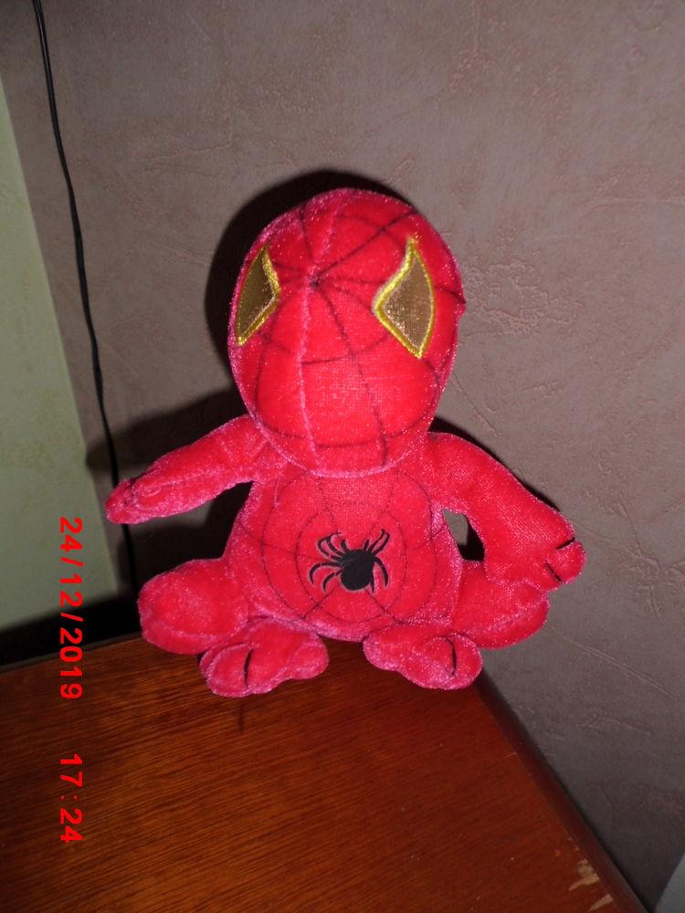 peluche spiderman rose 10 Oignies (62)