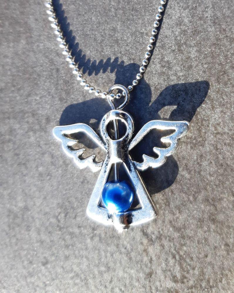 pendentif Ange en acier avec la  chaine 45 cm 6 La Seyne-sur-Mer (83)