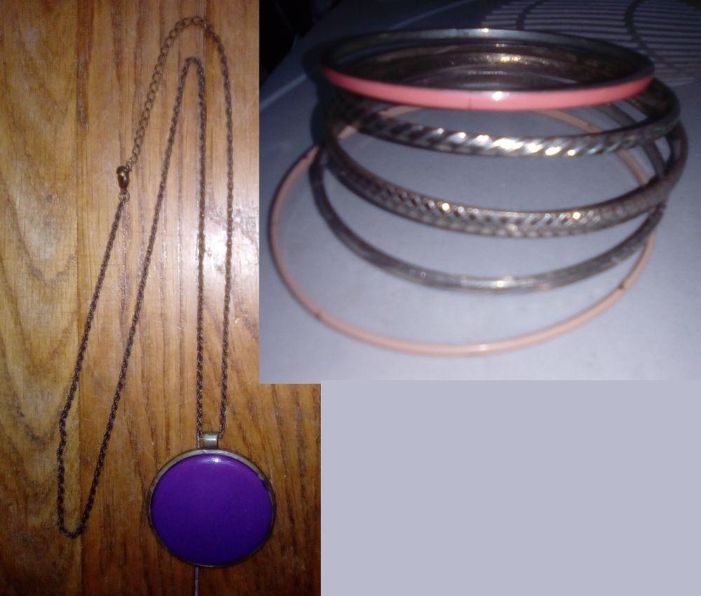 pendentif et 5 bracelets 4 Beauchamp (95)