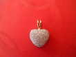 Pendentif coeur or et diamants 300 Le Cannet (06)