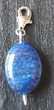 pendentif pierre Lapis-lazuli sur une bélière en argent 925 Bijoux et montres