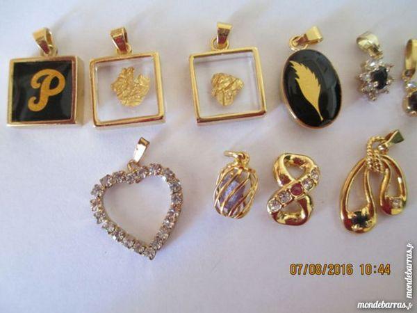 5 pendentifs fantaisie 3 Limeil-Brévannes (94)