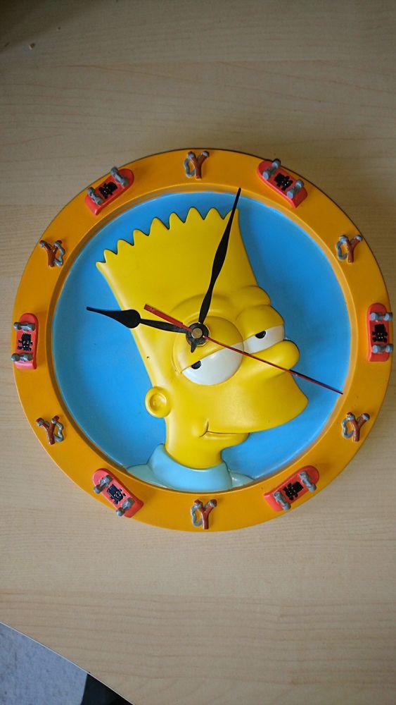 Pendule Bart Simpson 10 Colombes (92)