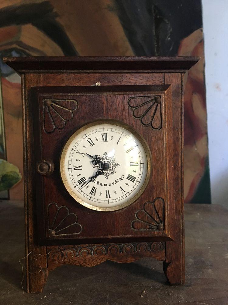 Pendule en bois ancienne 10 Lisieux (14)