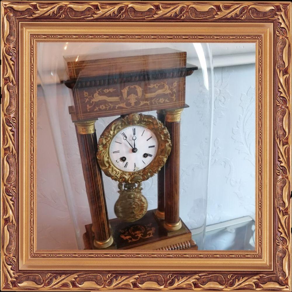 Pendule portique époque restauration. 380 Lisieux (14)