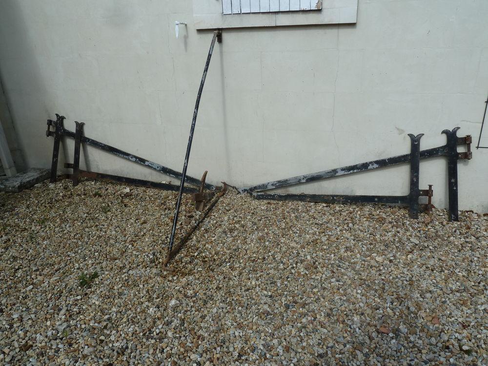 Pentures (ferronnerie) pour portail large 50 Tesson (17)
