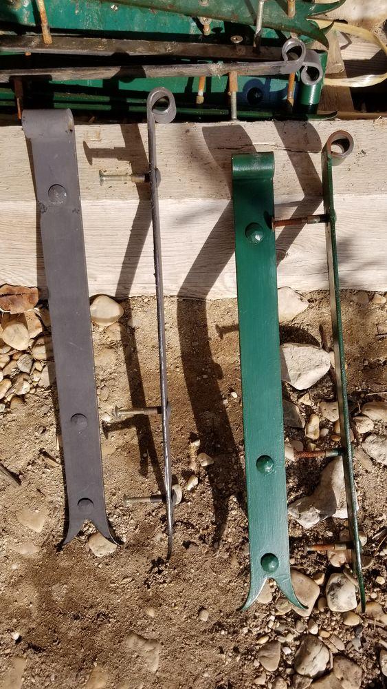 Pentures de volets bois queue de carpe 50 Marguerittes (30)