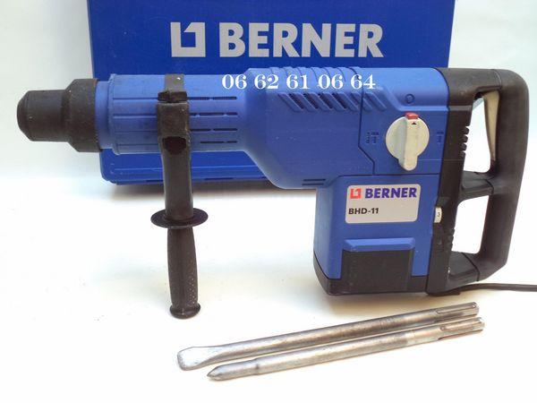 Perforateur - Burineur BERNER 11 Kg Bricolage