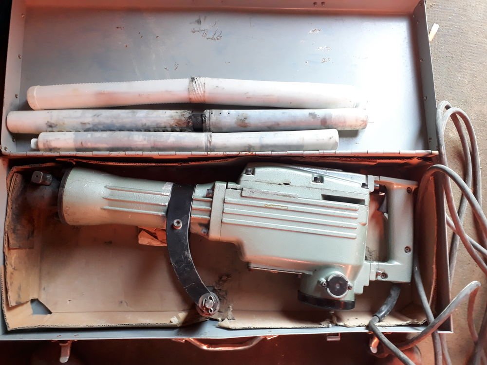 Perforateur burineur  650 Abancourt (60)
