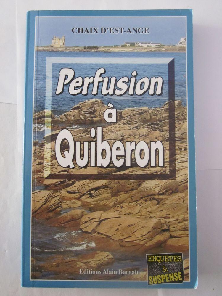 PERFUSION A QUIBERON  policier  BRETON BARGAIN 3 Brest (29)