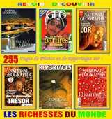 OR - PERLES - DIAMANTS - RICHESSE DU MONDE 17 Paris 10 (75)