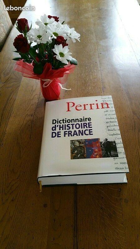 Perrin-dictionnaire-d-039-histoire-de-France-Editions-Perrin 50 Moulins-la-Marche (61)