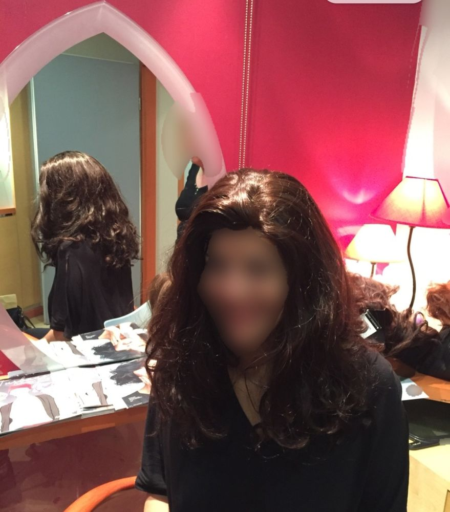 Perruque Any d'Avray cheveux naturels 1500 Orsay (91)