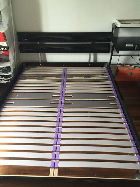 lit 2 pers avec matelas 150 Courbevoie (92)
