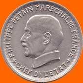 Pétain 5 francs 1941 360 Couzeix (87)
