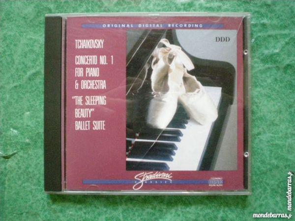 CD Peter Ilyitch Tchaikovsky    Concerto no 1  4 Saleilles (66)
