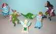 'PETER PAN' série complète de 6 figurines (pvc 4 à 8 cm) tir