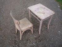 Petit bureau/chaise enfant Stella Meubles