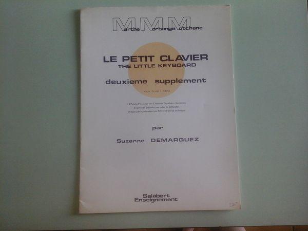 LE PETIT CLAVIER 2è SUPPLEMENT POUR PIANO 2 MAINS 6 Albi (81)