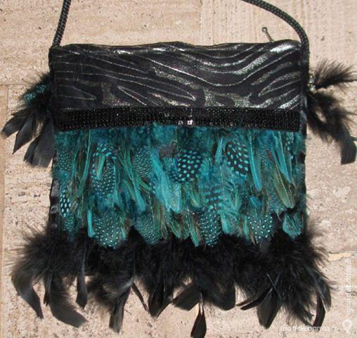 Petit sac DESIGN 'plumes' 80 Antibes (06)