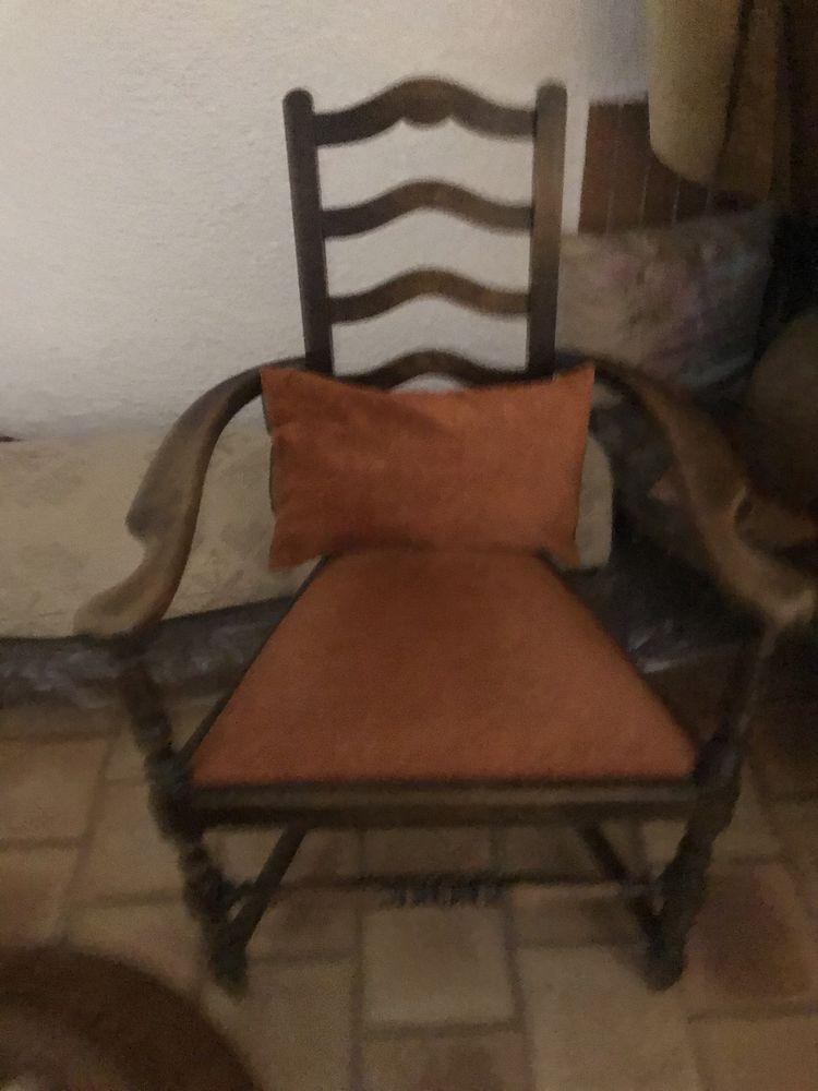 Petit fauteuil rustique 90 Cabestany (66)