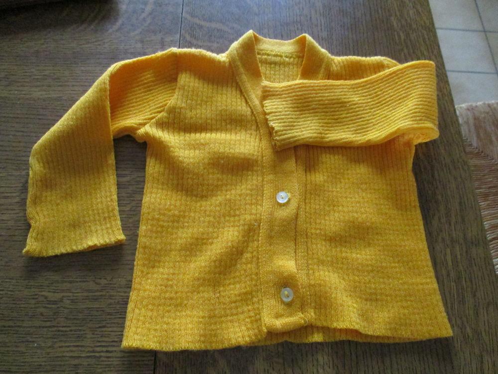 Petit gilet jaune 3 ans fille Vêtements enfants