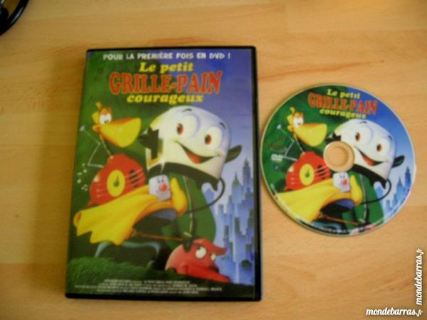 DVD LE PETIT GRILLE-PAIN COURAGEUX- Dessin Animé 13 Nantes (44)