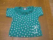 Petit haut vert avec motifs Vêtements enfants