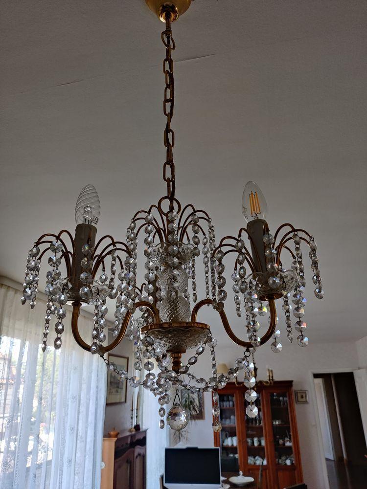 Petit lustre en cristal - 3 branches 90 Brétigny-sur-Orge (91)