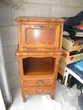 Petit meuble d'appoint en bois, couleur chêne  25 Saint-Gilles-Croix-de-Vie (85)
