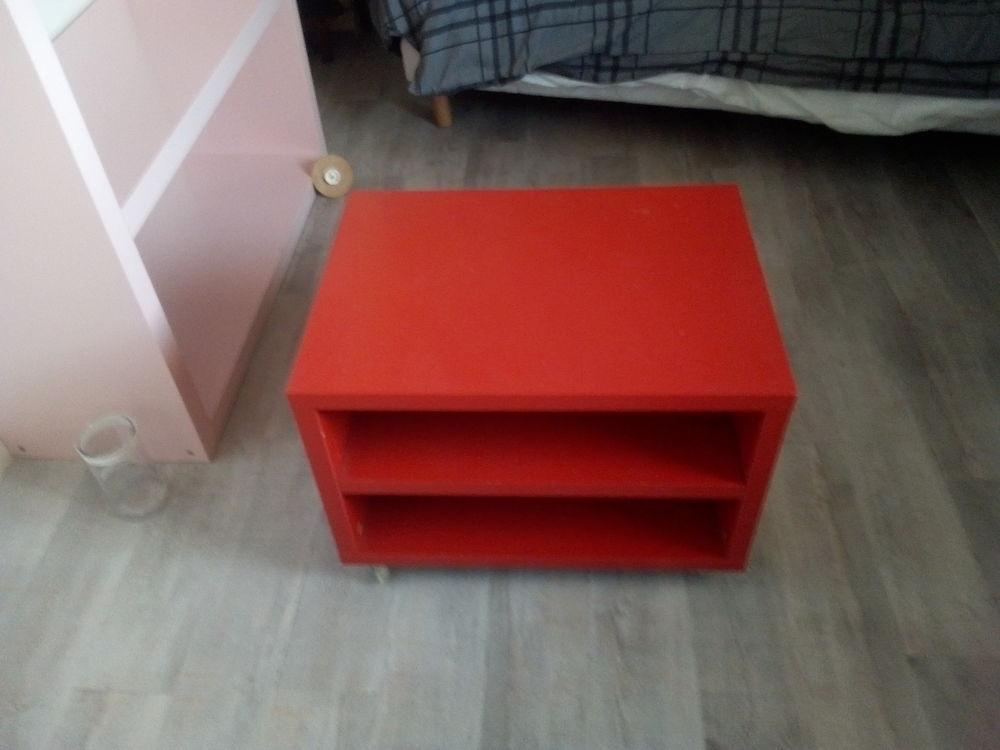 Petit meuble à roulettes Ikea rouge 34 Villeneuve-Tolosane (31)