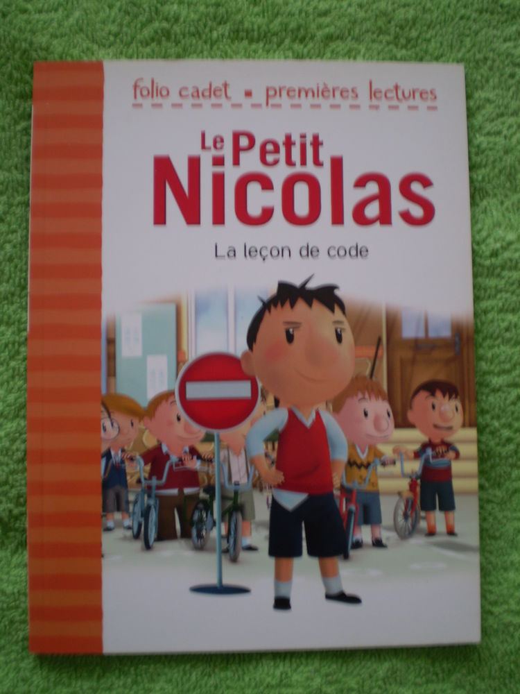 Le Petit NICOLAS__La LEÇON de CODE_folio cadet 2012 3 Lingolsheim (67)
