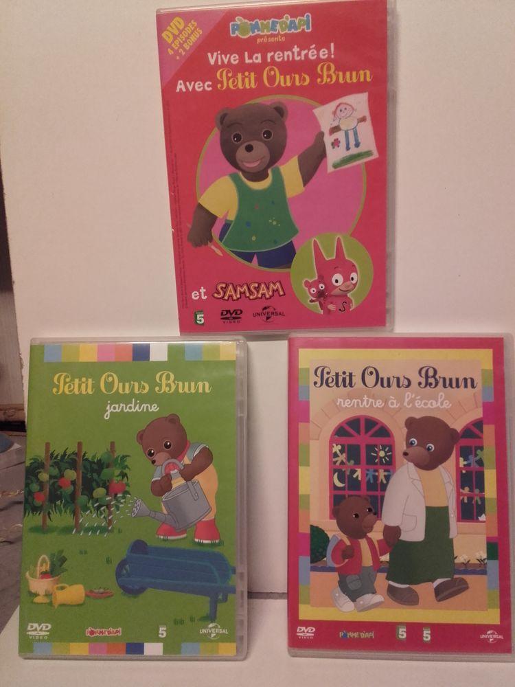 3 DVD Petit ours brun pour enfants. 10 Taverny (95)