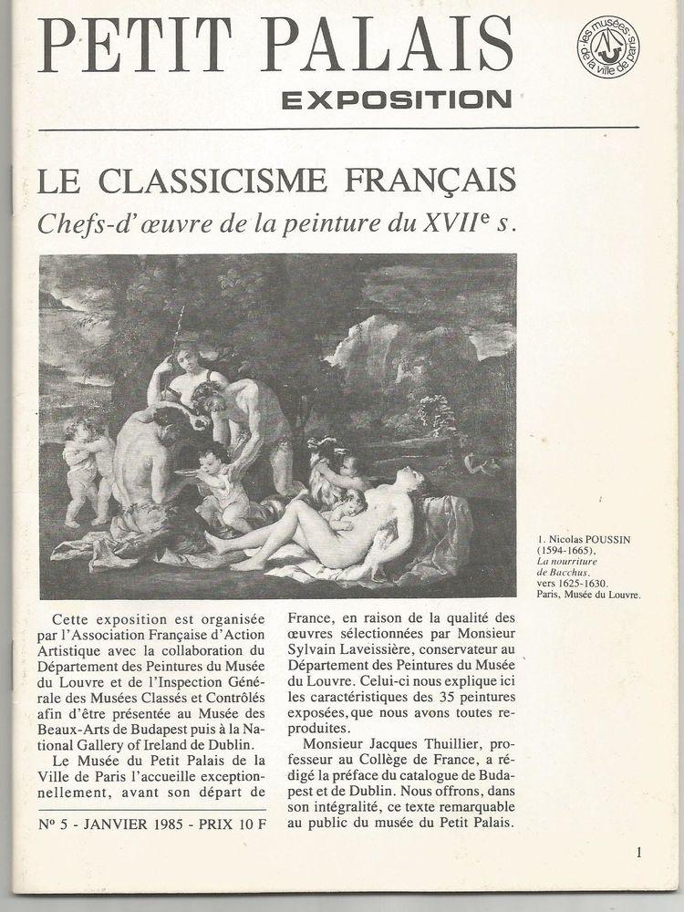 PETIT PALAIS exposition, le classicisme français 5 Montauban (82)