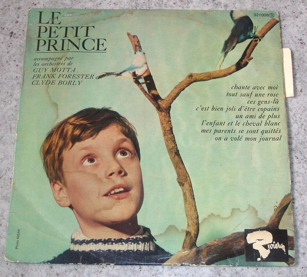 LE PETIT PRINCE-33t/25cm-CHANTE AVEC MOI (Frank ALAMO)-BIEM 10 Tourcoing (59)